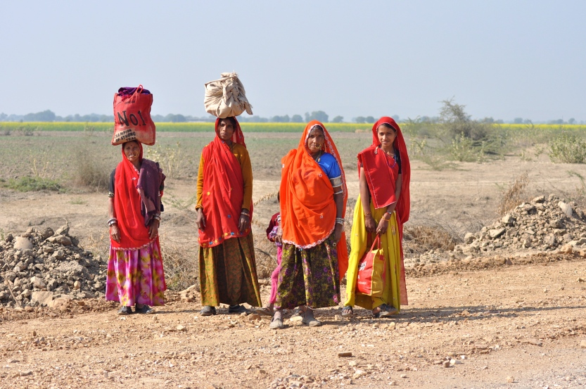 The vibrant colours of India